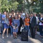 Выпускники 1 сентября 2012