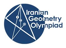 Iranian geometry olympiad logo